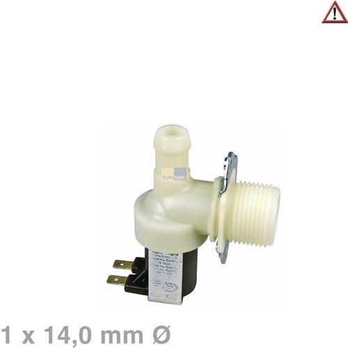 magnetventil 1 fach 90 14 0mm f r waschmaschine 56451747903. Black Bedroom Furniture Sets. Home Design Ideas