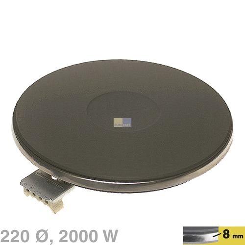 kochplatte 220mm 2000w 230v f r herd 10006959. Black Bedroom Furniture Sets. Home Design Ideas