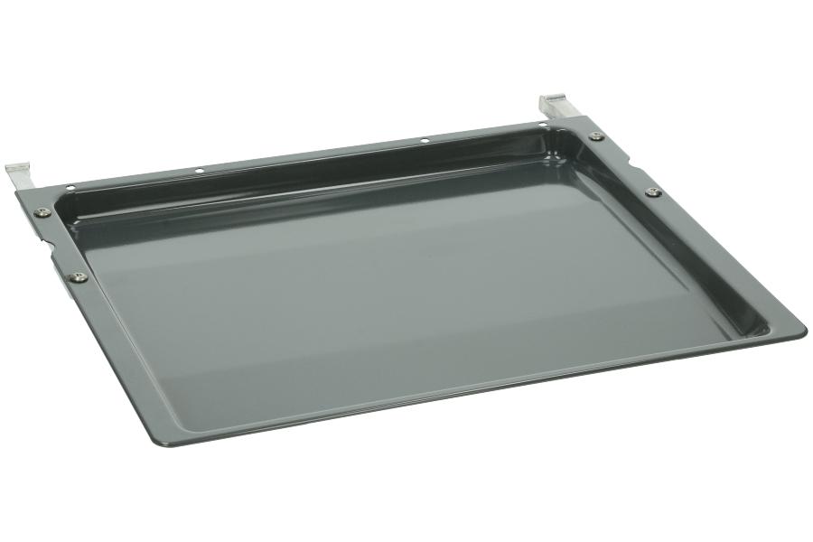 bosch siemens backblech emailliert 432x360400mm mit tr ger 24mm hoch randh he innen 22 mm. Black Bedroom Furniture Sets. Home Design Ideas