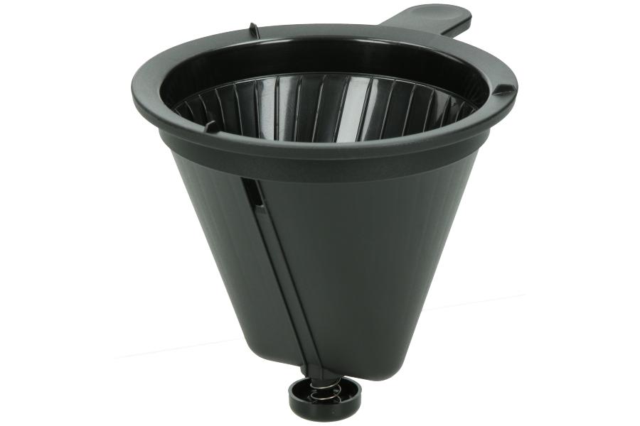 philips filterbeh lter schwarz mit feder f r. Black Bedroom Furniture Sets. Home Design Ideas