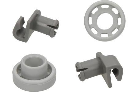 Korbrollen Geschirrspüler für u.a. Bosch, Siemens Oberkorb 2 Stück