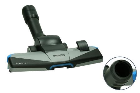 Philips Kombidüse Staubsauger TRI Active+ ø 35 mm Hartböden und Weichböden