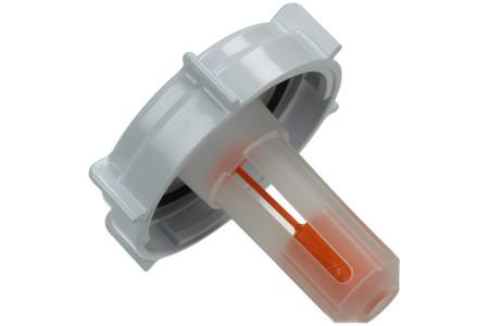 Deckel für Salzbehälter (Salzverschlusskappe mit Anzeige) für Geschirrspüler 481246279906