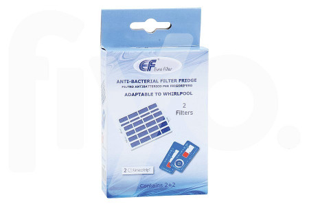 Antibakterieller Filter 2 Stück Kühlschrank 481248048172