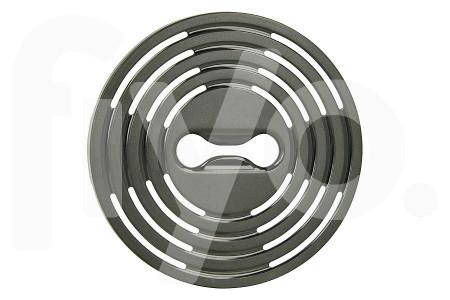 Philips Abdeckplatte (Gitter, Regal) für schwarze Tropfschale kaffeemaschine 422224775782, CP0400/01