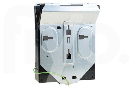Gehäuse Elektroteil von hinten Dunstabzugshaube 11012938