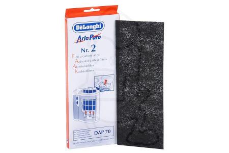 Filter (Kohlenstofffilter 263x95mm) für Luftreiniger 5537000100