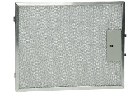 Filter (Metall in Halterung 300 x 240) für Abzugshaube 49010319
