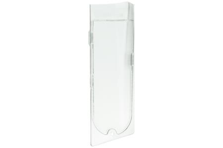 glas glas von lampe links 158x53mm f r dunstabzugshaube 482000009361. Black Bedroom Furniture Sets. Home Design Ideas