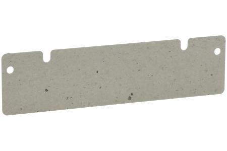 Glimmerscheibe (128x33mm mit 2 Einkerbungen) für Mikrowelle 481944238057