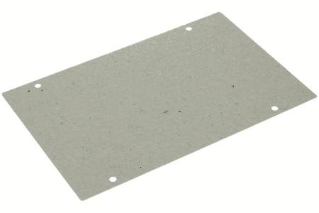 Glimmerscheibe (185x120mm mit Löchern) für Mikrowelle 481244229206