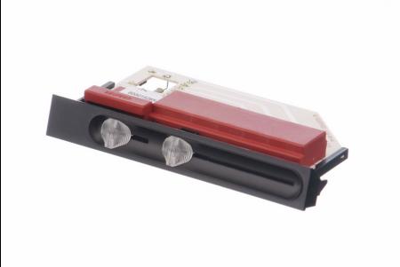 Schiebeschaltertafel für bedienblende für dunstabzugshauben