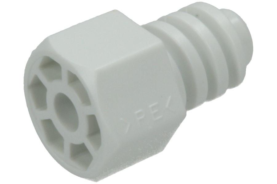 Gerätefuß verstellbar weiß kunststoff für trockner