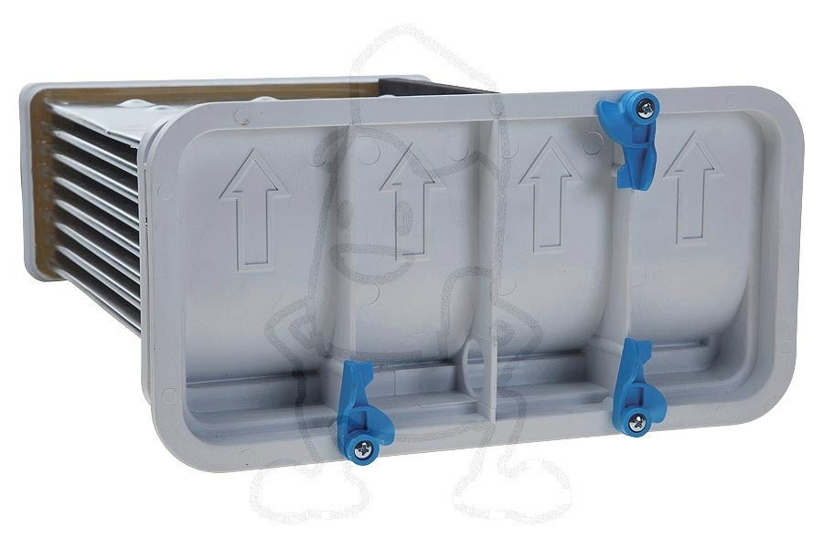 Kondensator wärmetauscher für trockner fiyo
