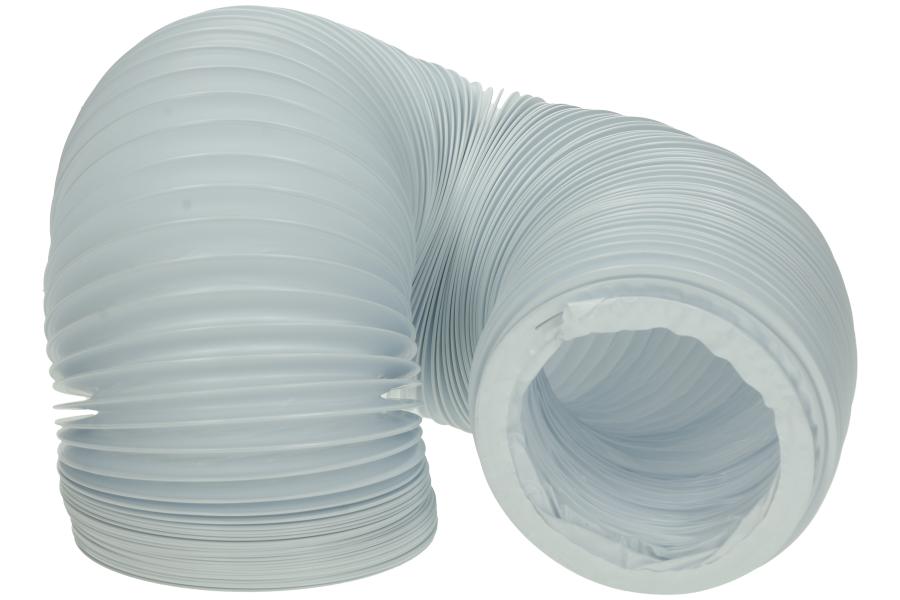 wpro abluftschlauch 100err 3m wei netz pvc schlauch f r trockner 482253027271. Black Bedroom Furniture Sets. Home Design Ideas