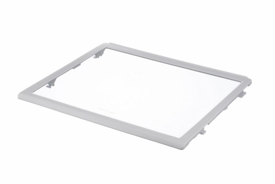 Glasplatte 440x363mm umspritzt Sie mit Kunststoffwinkeln 00662037 662037 Bosch