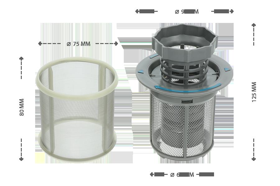 Bosch Kühlschrank Filter : Bosch filter staubsauger