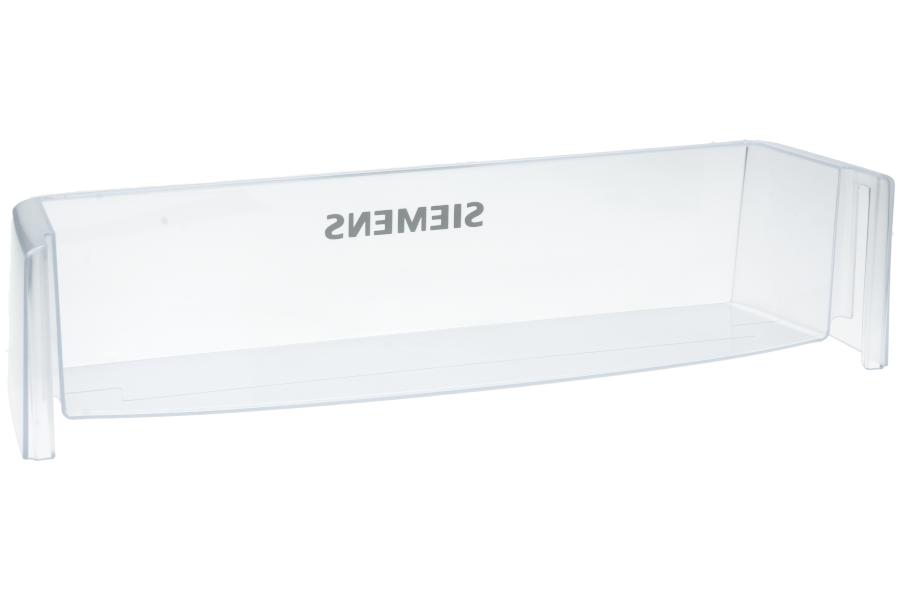 Siemens Kühlschrank Fach : Bosch siemens absteller fach transparent 490x120x110mm für