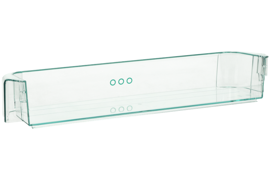 flaschenregal transparent 440x105x65mm f r k hlschrank 2273109104. Black Bedroom Furniture Sets. Home Design Ideas