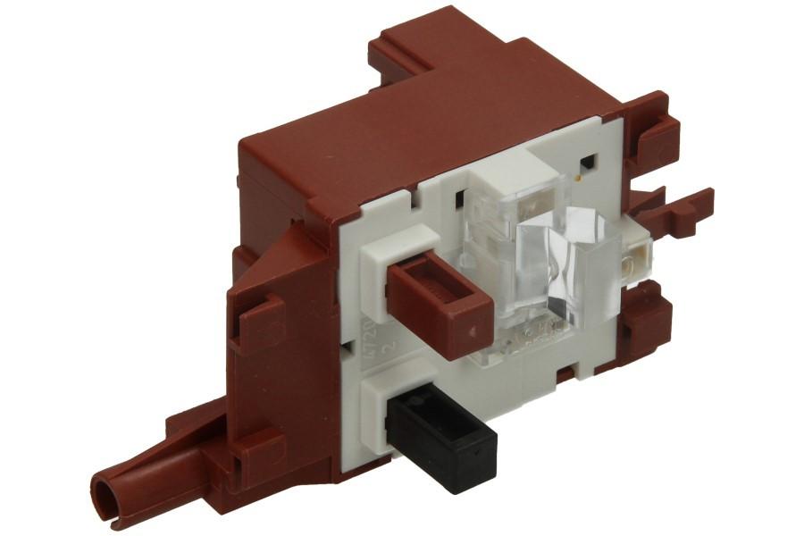 bosch siemens schalter 2 fach haupt und fenster ffner f r waschmaschine 154505 00154505. Black Bedroom Furniture Sets. Home Design Ideas