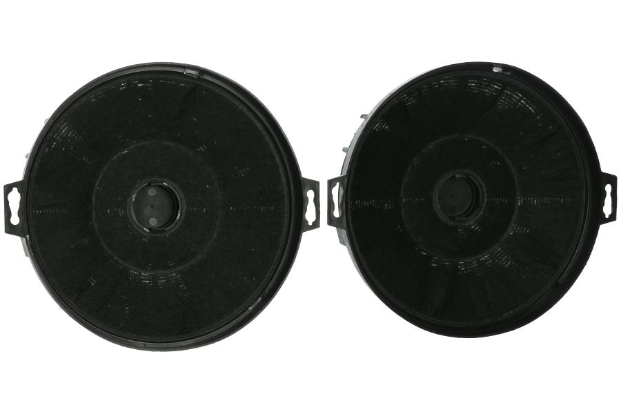 Smeg filter kohlenstoff 21cm per 2 für dunstabzugshaube flt2