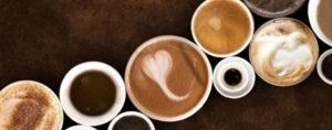 Kaffee auf der ganzen Welt